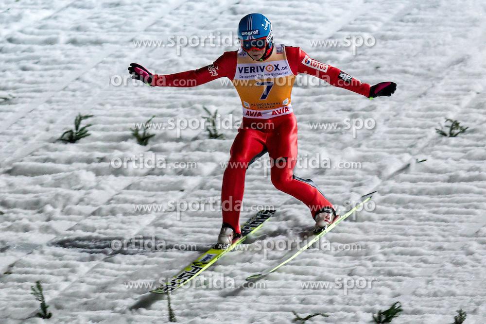 21.11.2014, Vogtland Arena, Klingenthal, GER, FIS Weltcup Ski Sprung, Klingenthal, Herren, HS 140, Qualifikation, im Bild BARTLOMIEJ KLUSEK // during the mens HS 140 qualification of FIS Ski jumping World Cup at the Vogtland Arena in Klingenthal, Germany on 2014/11/21. EXPA Pictures &copy; 2014, PhotoCredit: EXPA/ Newspix/ Katarzyna Plewczynska<br /> <br /> *****ATTENTION - for AUT, SLO, CRO, SRB, BIH, MAZ, TUR, SUI, SWE only*****