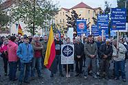 xenophobic rally in Freital 10.09.2015