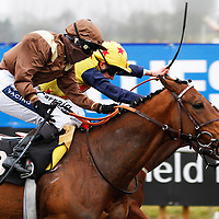 Cyflymder and Hayley Turner winning the 2.20 race