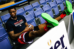 Fred Thomas of Bristol Flyers - Rogan/JMP - 19/04/2019 - BASKETBALL - University of Worcester Arena - Worcester, England. - Worcester Wolves v Bristol Flyers - British Basketball League.