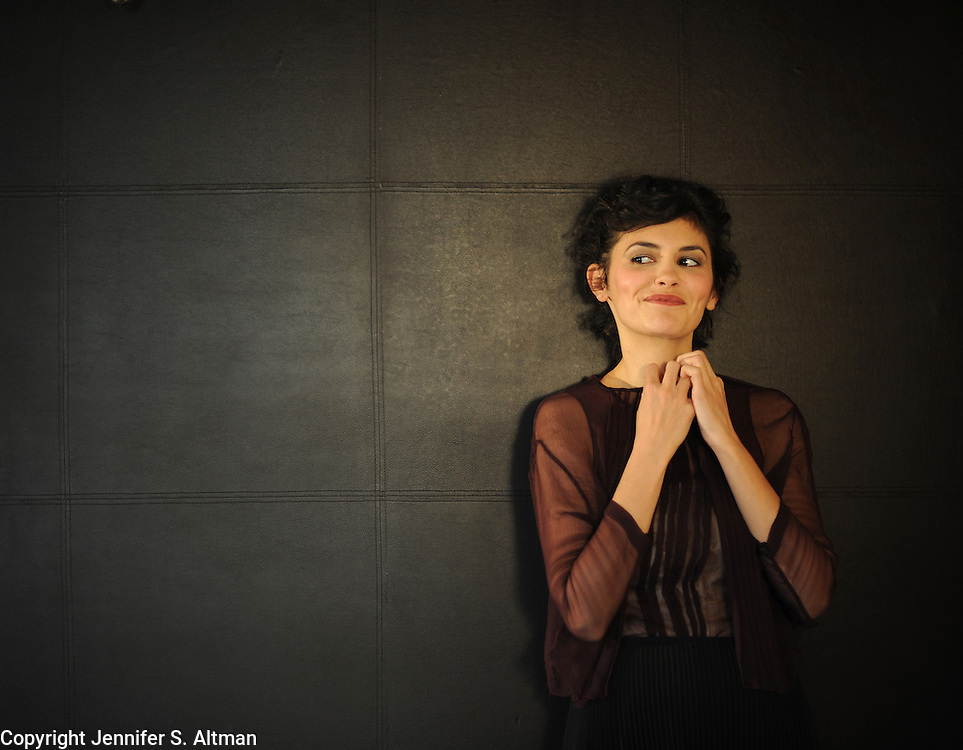 MANHATTAN, NEW YORK, MARCH 9, 2012 French actress Audrey Justine Tautou, who stars in Delicacy, is seen at The Empire Hotel in Manhattan, NY. 3/9/3012 Photo by Jennifer S. Altman/For The Times