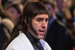 © Licensed to London News Pictures. 22/02/2016. SASHA BARON COHEN attends the GRIMSBY Film premiere. The film centres around a black-ops spy whose brother is a football hooligan.  London, UK. Photo credit: Ray Tang/LNP