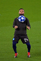 LIVERPOOL, ENGLAND - Monday, December 10, 2018: SSC Napoli's Lorenzo Insigne during a training session at Anfield ahead of the UEFA Champions League Group C match between Liverpool FC and SSC Napoli. (Pic by David Rawcliffe/Propaganda)