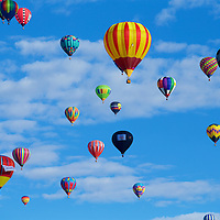 Filling the sky with color - a successful mass ascension
