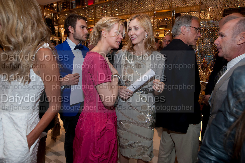 LADY HELEN TAYLOR; ALLEGRA HICKS, Louis Vuitton openingof New Bond Street Maison. London. 25 May 2010. -DO NOT ARCHIVE-© Copyright Photograph by Dafydd Jones. 248 Clapham Rd. London SW9 0PZ. Tel 0207 820 0771. www.dafjones.com.