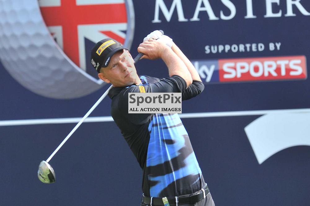 Marcel Siem Germany, British Masters, European Tour, Woburn Golf Course Friday 9th October 2015.