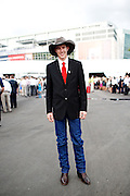 Tyler Lindholm, 29, of Sundance, Wyoming, came to the 2012 Republican National Convention on August 30, 2012 in Tampa, Fla. to support Ron Paul as an alternate delegate.