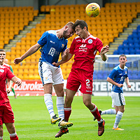 St Johnstone v Queen of the South…28.08.18  SPFL Reserve League<br />