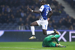 December 6, 2017 - Porto, Porto, Portugal - Porto's Cameroonian forward Vincent Aboubakar score a goal during the UEFA Champions League Group G match between FC Porto and AS Monaco FC at Dragao Stadium on December 6, 2017 in Porto, Portugal. (Credit Image: © Dpi/NurPhoto via ZUMA Press)