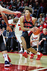 NORMAL, IL - December 08: KJ Buffen during a college basketball game between the ISU Redbirds and the University of Mississippi (Ole Miss) Rebels on December 08 2018 at Redbird Arena in Normal, IL. (Photo by Alan Look)