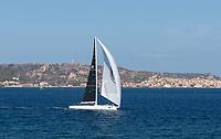 Rolex Maxi Cup 2017, Costa Smeralda, Porto Cervo Yacht Club Costa Smeralda (YCCS). SPECTRE (Peter Dubens) during the race.