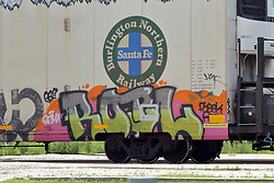 railroad graffiti art