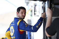February 9, 2018 - Avondale, Arizona, United States of America - February 09, 2018 - Avondale, Arizona, USA: Alexander Rossi (27) watches a car enter turn 1 during the Prix View at ISM Raceway in Avondale, Arizona. (Credit Image: © Justin R. Noe Asp Inc/ASP via ZUMA Wire)
