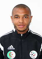 Confederation of African Football - World Cup Fifa Russia 2018 Qualifier / <br /> Algeria National Team - Preview Set - <br /> Yacine Brahimi