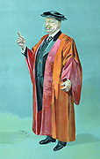 Theodore Roosevelt (1858-1919) 26th President of USA 1901-1909. 'Spy' cartoon from 'The World' showing him in robes of DCL after presentation of an honorary degree