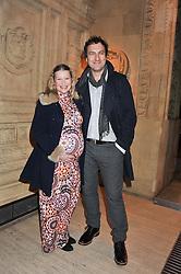 JOANA PAGE and JAMES THORNTON at Cirque du Soleil's VIP night of Kooza held at the Royal Albert Hall, London on 8th January 2013.