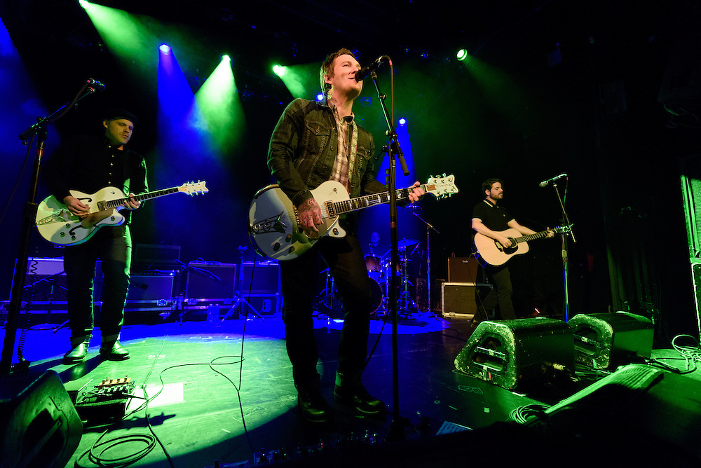 Photos of Brian Fallon & the Crowes performing live at Irving Plaza, NYC on March 9, 2016. © Matthew Eisman/ Getty Images. All Rights Reserved