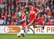 Middlesbrough defender Daniel Ayala (4) during the EFL Sky Bet Championship match between Middlesbrough and Aston Villa at the Riverside Stadium, Middlesbrough, England on 12 May 2018. Picture by Jon Hobley.