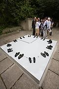 """54th Biennale of Venice..ILLUMInazioni - ILLUMInations.Giardini, Israeli Pavillion..Sigalit Landau, """"One Man's floor is another Man's feelings"""", 2011."""