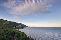 Cabot Trail, Cape Breton Highlands National Park, Cape Breton Island Nova Scotia