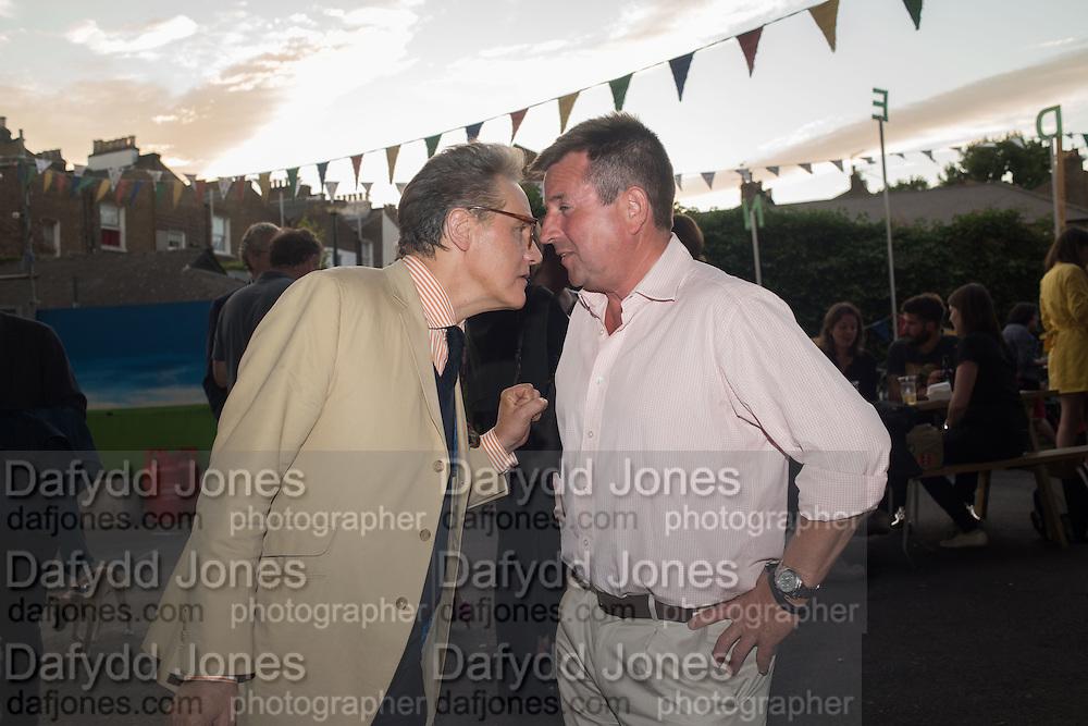PETER YORK; BEN BUDWORTH, Rachel Johnson book launch of Fresh Hell, Acklam Village Market, Acklam Rd. London W10.