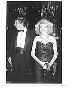 Donald and Ivana, N.Y. 1989© Copyright Photograph by Dafydd Jones 66 Stockwell Park Rd. London SW9 0DA Tel 020 7733 0108 www.dafjones.com