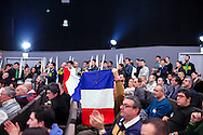 28 January 2016, Milan, Italy - Young supporters during the first Europe of Nations and Freedom (ENF) congress at MiCo Congress centre in Milan.