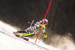 Thea Louise Stjernesund (NOR)during the Ladies' Slalom at 56th Golden Fox event at Audi FIS Ski World Cup 2019/20, on February 16, 2020 in Podkoren, Kranjska Gora, Slovenia. Photo by Matic Ritonja / Sportida