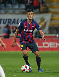 October 31, 2018 - Leon, Leon, Spain - Lenglet of Barcelona in action during the King Spanish championship, , football match between Cultural Leonesa and Barcelona, October 31, in Reino de Leon Stadium in Leon, Spain. (Credit Image: © AFP7 via ZUMA Wire)