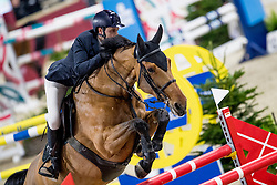Tabarini Filippo, ITA, Exquise du Pachis<br /> Jumping Mechelen 2019<br /> © Hippo Foto - Sharon Vandeput<br /> 28/12/19