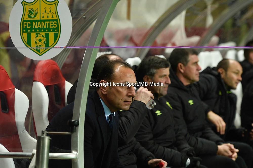 Michel DER ZAKARIAN - 17.01.2015 - Monaco / Nantes - 21eme journee de Ligue 1 <br /> Photo : Serge Haouzi / Icon Sport
