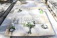 Homenaje a Wilson Ferreira en el Cementerio del Buceo