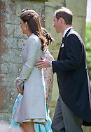 "PRINCE WILLIAM AND CATHERINE, Duchess of Cambridge.attend the wedding of William's cousin Emily McCorquodale to James Hutt at  the Church of St Andrew & St Mary, Stoke Rochford, Lincolnshire.Emily is the daughter of Princess Diana' sister Sarah McCorquodale_09/06/2012.Mandatory Credit Photo: ©NEWSPIX INTERNATIONAL..**ALL FEES PAYABLE TO: ""NEWSPIX INTERNATIONAL""**..IMMEDIATE CONFIRMATION OF USAGE REQUIRED:.Newspix International, 31 Chinnery Hill, Bishop's Stortford, ENGLAND CM23 3PS.Tel:+441279 324672  ; Fax: +441279656877.Mobile:  07775681153.e-mail: info@newspixinternational.co.uk"