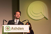 The 2016 Ashden awards ceremony held at the Royal Geographical Society, London, UK. All image Use must be credited © Andrew Aitchison / Ashden