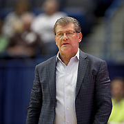 HARTFORD, CONNECTICUT- DECEMBER 19:  Head coach Geno Auriemma on the sideline during the UConn Huskies Vs Ohio State Buckeyes, NCAA Women's Basketball game on December 19th, 2016 at the XL Center, Hartford, Connecticut (Photo by Tim Clayton/Corbis via Getty Images)