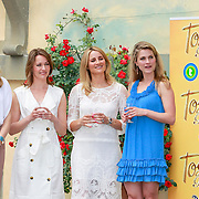 ITA/Lucca /20130521 - Presenttie Cast film De Toscaanse Bruiloft, Carolien Spoor, Sophie van Oers, Lieke van Lexmond, Medi Broekman