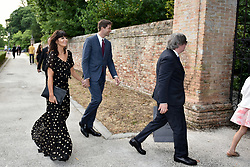 Arrivals at Jessica Chastain and Gian Luca Passi de Preposulo's wedding in Milan, Italy. 10 Jun 2017 Pictured: guest. Photo credit: M. Angeles Salvador/MEGA TheMegaAgency.com +1 888 505 6342