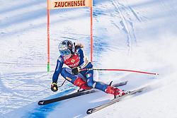 10.01.2020, Keelberloch Rennstrecke, Altenmark, AUT, FIS Weltcup Ski Alpin, Abfahrt, Damen, 2. Training, im Bild Nicol Delago (ITA) // Nicol Delago of Italy in action during her 2nd training run for the women's Downhill of FIS ski alpine world cup at the Keelberloch Rennstrecke in Altenmark, Austria on 2020/01/10. EXPA Pictures © 2020, PhotoCredit: EXPA/ Johann Groder