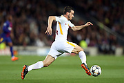 ALESSANDRO FLORENZI of AS Roma during the UEFA Champions League, quarter final, 1st leg football match between FC Barcelona and AS Roma on April 4, 2018 at Camp Nou stadium in Barcelona, Spain - Photo Manuel Blondeau / AOP Press / ProSportsImages / DPPI