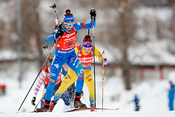 March 16, 2019 - –Stersund, Sweden - 190316 Lisa Vittozzi of Italy competes in the Women's 4x6 km Relay during the IBU World Championships Biathlon on March 16, 2019 in Östersund..Photo: Johan Axelsson / BILDBYRÃ…N / Cop 245 (Credit Image: © Johan Axelsson/Bildbyran via ZUMA Press)