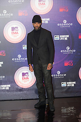 Mr Probz. Red carpets arrivals at the MTV EMA's 2014 at The Hydro on November 9, 2014 in Glasgow, Scotland.