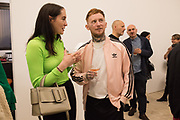 BLANAID KENNY, FRANK CARTER, Miss Sue Webster hosts the launch of her book <br /> 'I Was a Teenage Banshee' The Mole House , Dalston. 17 October 2019