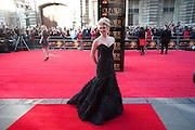 SCARLETT STRALLEN, Olivier Awards 2012, Royal Opera House, Covent Garde. London.  15 April 2012.