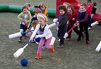MEERSSSEN - Knotshockey, fithockey. Funkey Fiesta op Hockeyclub HV Meerssen. FOTO KOEN SUYK