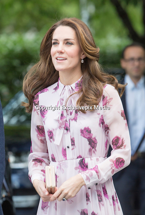 LONDON- UK- 10th Oct 2016: <br /> <br /> Duke and Duchess of Cambridge with Prince Harry celebrate World Mental Health day with a 'Heads Together' event at County Hall in Westminster.<br /> ©Exclusivepix Media