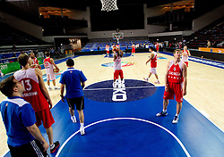 Players during practice session of Georgia's National basketball team 1 day before Eurobasket Lithuania 2011, on August 29, 2011, in Arena Svyturio, Klaipeda, Lithuania. (Photo by Vid Ponikvar / Sportida)