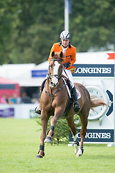 Bles Bart (NED) - Lord Sandro DDH<br /> Furusiyya FEI Nations Cup<br /> International Horse Show - Hickstead 2014<br /> © Hippo Foto - Jon Stroud