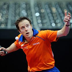 09-05-2011 TAFELTENNIS: WORLD TABLE TENNIS CHAMPIONSHIPS: ROTTERDAM<br /> Daan Sliepen<br /> ©2011-FotoHoogendoorn.nl