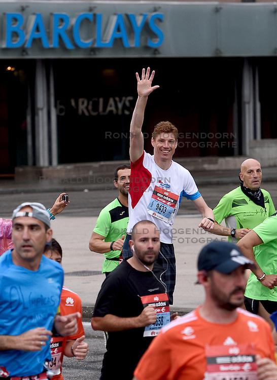 26-04-2015 NED: We Run 2 Change Diabetes NY 2015, Arnhem<br /> We run to change diabetes, training op de halve marathon van Madrid met de groep hardlopers van Novo Nordisk Spanje die op 1 november 2015 hun grenzen gaan verleggen in de marathon van New York / Bas