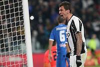 25.02.2017 - Torino - Serie A 2016/17 - 26a giornata  -  Juventus-Empoli nella  foto: Mario Mandzukic  esulta dopo il gol